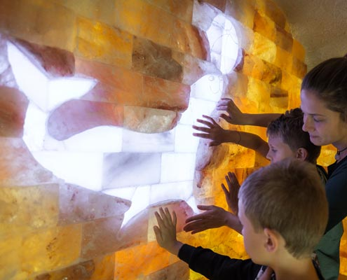 Salzgrotte für Kinder in Wien