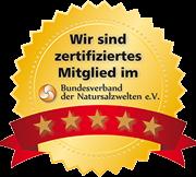 Zertifiziertes Mitglied im Bundesverband der Natursalzwelten